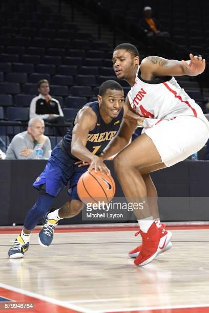 Breaon Brady Houston Cougars Basketball Jersey - Black