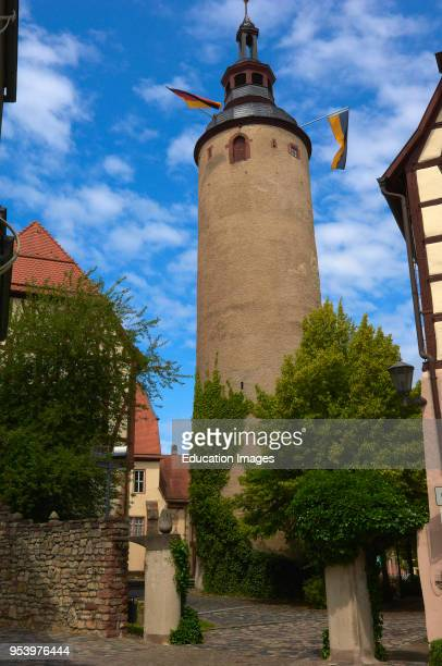 Kurmainzisches Schloss castle Tauberbischofsheim BadenWuerttemberg Germany Europe