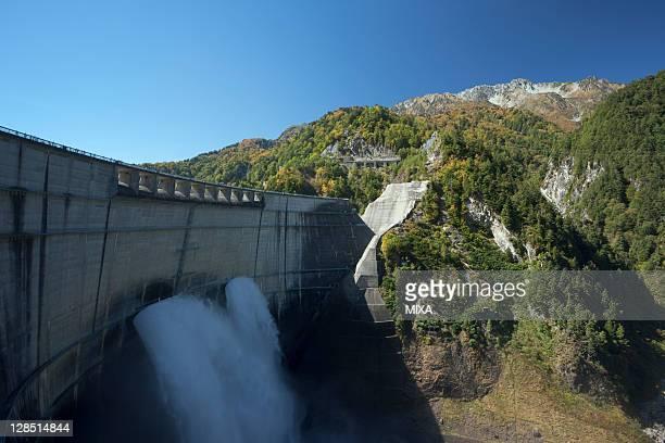 Kurobe Dam, Tateyama, Nakaniikawa, Toyama, Japan