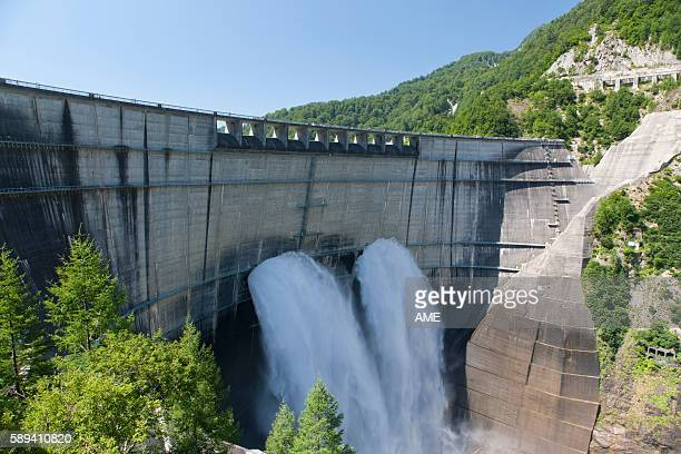 Kurobe dam, Toyama Prefecture, Honshu, Japan