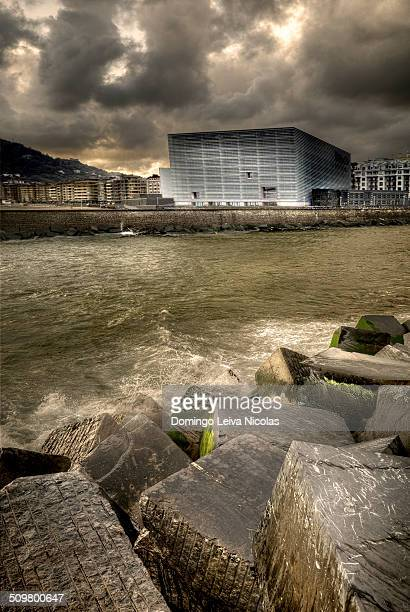 Kursaal Convention Center and Auditorium in San Sebastian Spain Every year the Kursaal houses the San Sebastian International Film Festival