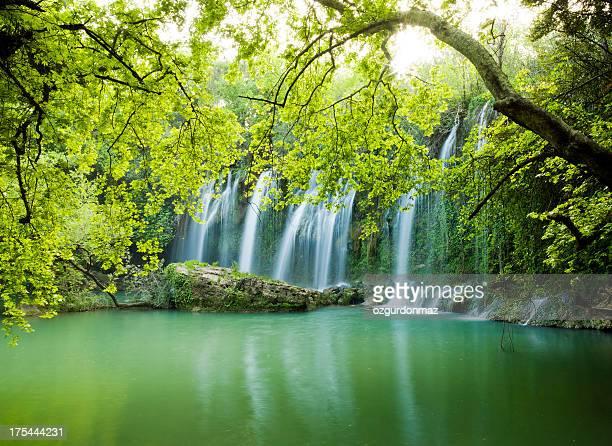 クルシュンルの滝 - アンタルヤ県 ストックフォトと画像