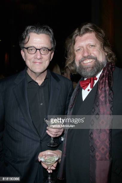 Kurt Anderson and Oskar Eustis attend IT HAPPENED ONE NIGHT MOTH Storytelling Award at the Annual MOTH BALL GALA at Capitale on November 16 2010 in...