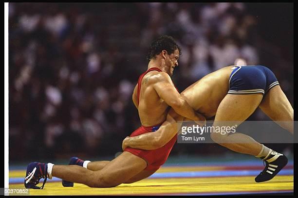 Kurt Angle in action def IRN Abbas Jadidi