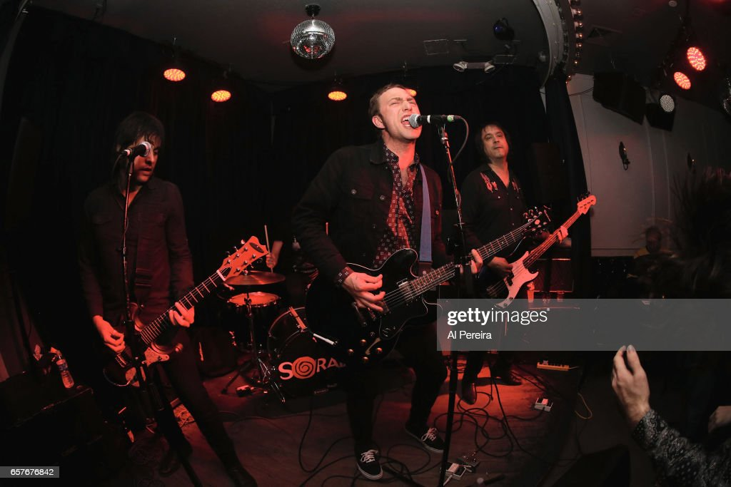 Kurt Baker and The Kurt Baker Combo perform at Berlin on March 24, 2017 in New York City.