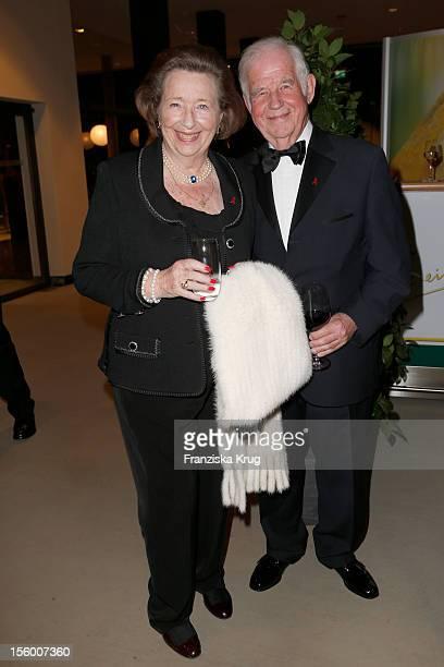 Kurt Biedenkopf and Ingrid Biedenkopf attend the '19th Opera Gala' at Deutsche Oper on November 10, 2012 in Berlin, Germany.