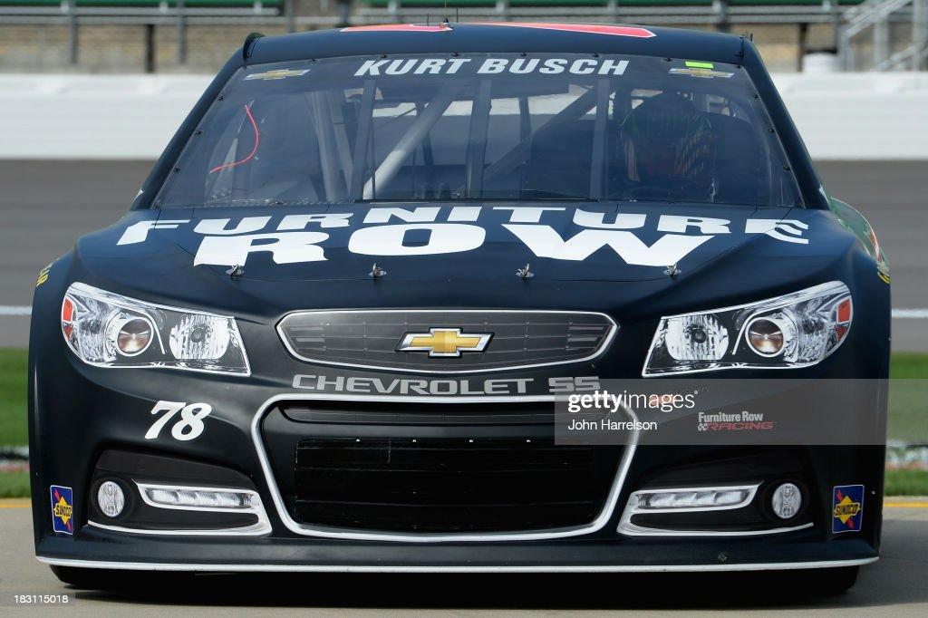 Kurt Busch Driver Of The Furniture Row Denver Mattress Chevrolet