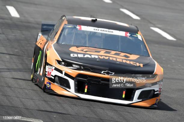 Kurt Busch driver of the GEARWRENCH Chevrolet drives during qualifying for the NASCAR Cup Series CocaCola 600 at Charlotte Motor Speedway on May 24...
