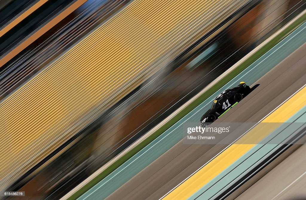 Kurt Busch, drives the #41 Stewart-Haas Racing Chevrolet during testing at Homestead-Miami Speedway on October 18, 2016 in Homestead, Florida.