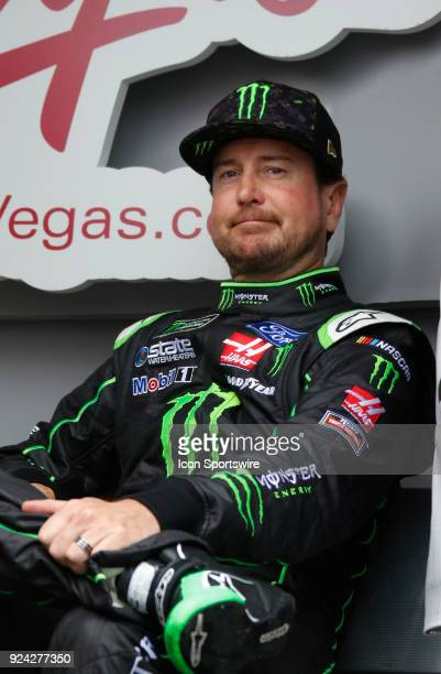 Kurt Busch StewartHaas Racing Haas Automation/Monster Energy Ford Fusion during the running of the 59th annual Folds of Honor QuikTrip 500 on Sunday...