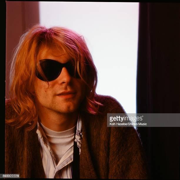 Kurt Cobain at the hotel Tokyo November 1991