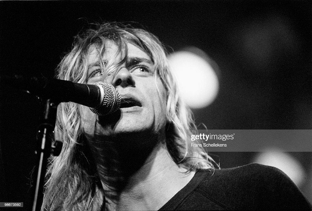 Nirvana Perform Live In Amsterdam : News Photo