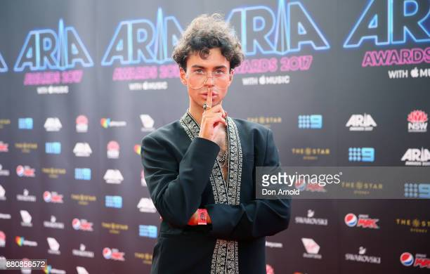 Kurt Coleman arrives for the 31st Annual ARIA Awards 2017 at The Star on November 28 2017 in Sydney Australia