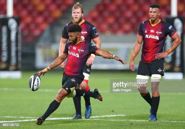 Kurt Coleman of Southern Kings during the Guinness Pro14 match between Southern Kings and Edinburgh at Nelson Mandela Bay Stadium on December 01 2017...