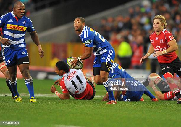 Kurt Coleman of the Stormers during the Super Rugby match between DHL Stormers and Emirates Lions at DHL Newlands Stadium on June 06 2015 in Cape...