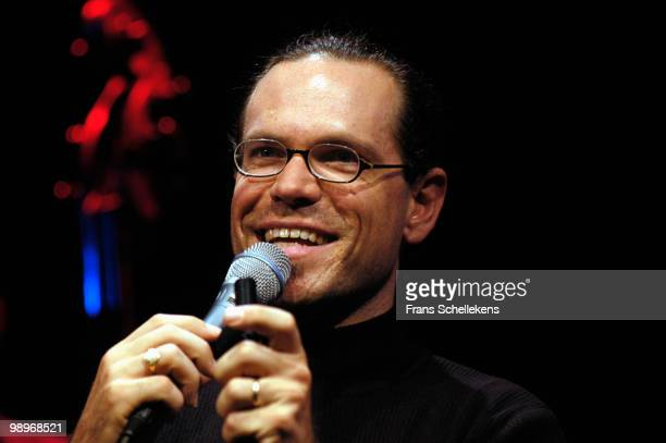 Kurt Elling performs live on stage at Bimhuis in Amsterdam, Netherlands on October 25 2002