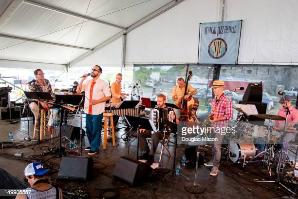 Kurt Elling Theo Bleckmann Matt Moran Red Wierenga Drew Gress Chris Speed and John Hollenbeck John Hollenbeck and The Claudia Quintet 1 Band performs...