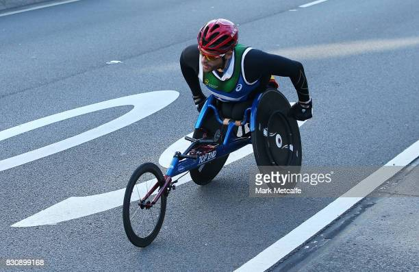 Kurt Fearnley competes in the 2017 City to Surf on August 13 2017 in Sydney Australia