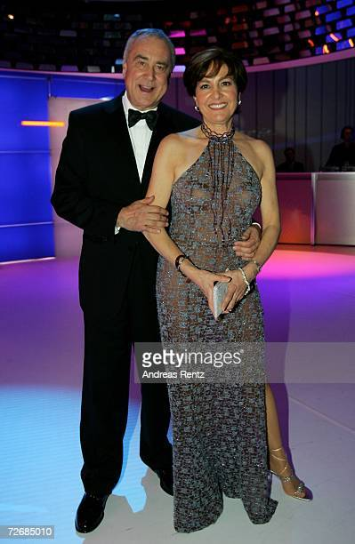 Kurt Felix and his wife Paola attend the afterparty of the 58th annual Bambi Awards at the MercedesBenz Museum on November 30 2006 in Stuttgart...