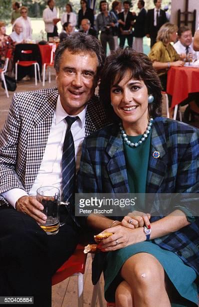 Kurt Felix Ehefrau Paola Felix 'Stars im Zelt 1986' am in Deutschland