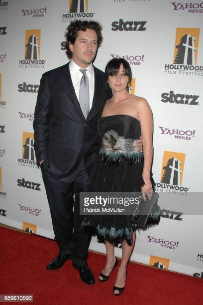Kurt Iswarienko and Shannen Doherty attend HOLLYWOOD FEST HONORS TODAY'S BIGGEST STARS AT THE 13TH ANNUAL HOLLYWOOD AWARDS GALA CEREMONY at Beverly...