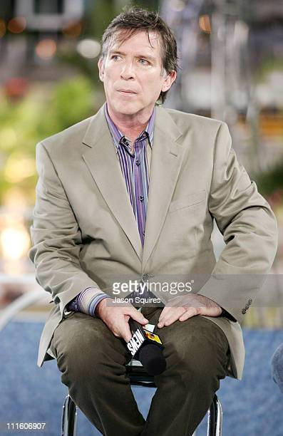 Kurt Loder during 2005 MTV Video Music Awards MTV News PostShow at American Airlines Arena in Miami Florida United States