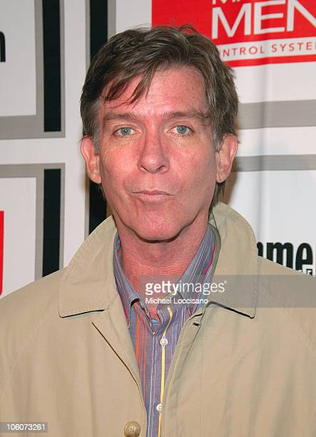 Kurt Loder during Entertainment Weekly/Matrix Men 2006 Upfront Party at The Manor in New York City New York United States