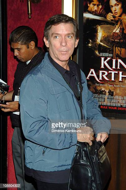 Kurt Loder during King Arthur New York Premiere Inside Arrivals at The Ziegfeld Theatre in New York City New York United States
