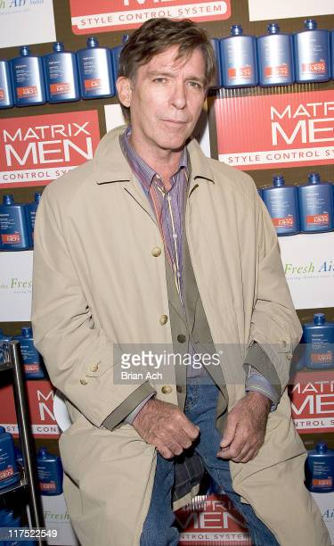 Kurt Loder during The Matrix Men Upfronts Styling Station for the Fresh Air Fund at The Manor in New York City New York United States