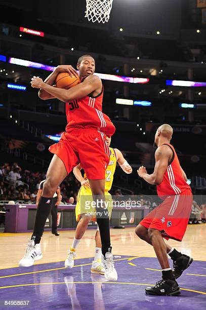 Kurt Looby of the Rio Grande Valley Vipers pulls down a rebound during a game against the Los Angeles DFenders at Staples Center on February 20 2009...