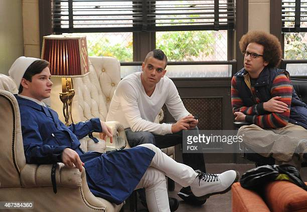 Kurt Puck and Jacob discuss a strategy for sectionals in the Sectionals fall finale episode of GLEE airing Wednesday Dec 9 on FOX