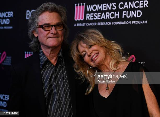 Kurt Russell and Goldie Hawn attend The Women's Cancer Research Fund's An Unforgettable Evening Benefit Gala at the Beverly Wilshire Four Seasons...