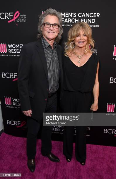 "Kurt Russell and Goldie Hawn attend WCRF's ""An Unforgettable Evening"" at the Beverly Wilshire Four Seasons Hotel on February 28, 2019 in Beverly..."