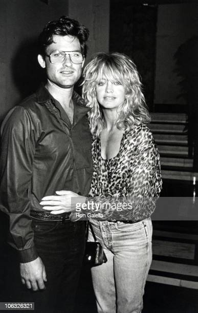 Kurt Russell and Goldie Hawn during Goldie Hawn at Carlyle Hotel at Carlyle Hotel in New York City New York United States