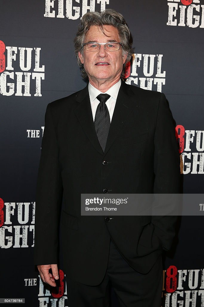 the hateful eight australian premiere arrivalsの写真およびイメージ