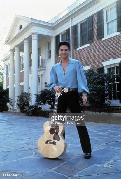 Kurt Russell as Elvis in Elvis the Movie in 1979 in Los Angeles, California. At Graceland