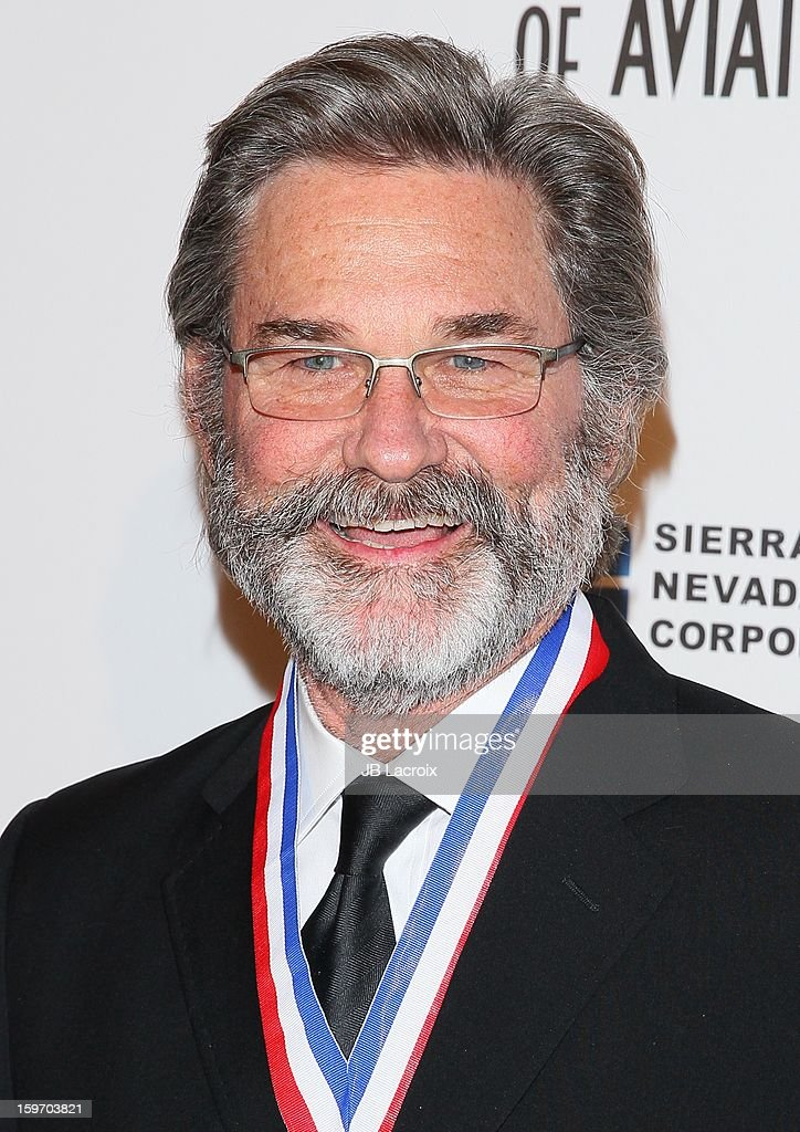 Kurt Russell attends the Living Legends Of Aviation Awards at The Beverly Hilton Hotel on January 18, 2013 in Beverly Hills, California.