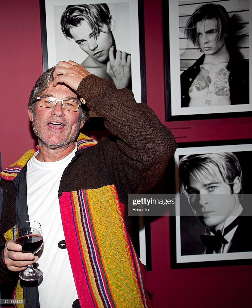 Kurt Russell attends the opening night reception of 'Greg Gorman: A Distinctive Vision 1970-2010' at Pacific Design Center on September 15, 2010 in West Hollywood, California.