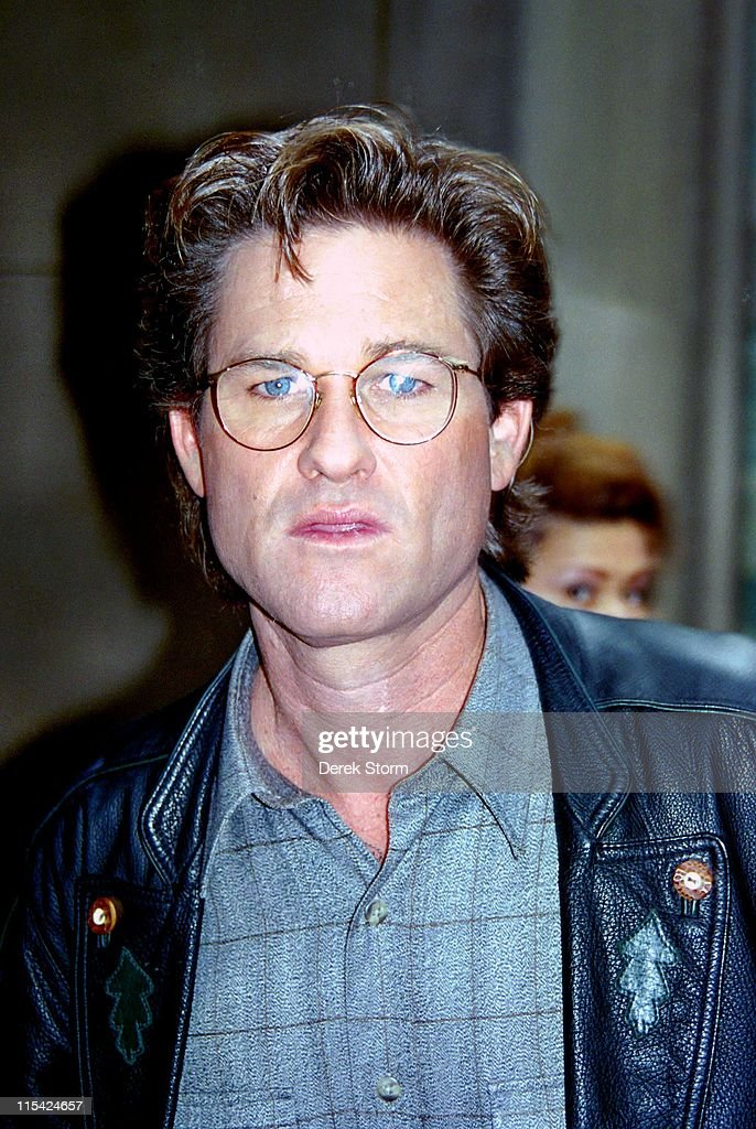 """Kurt Russell appears on the """"Today Show"""" - April 11, 1994"""