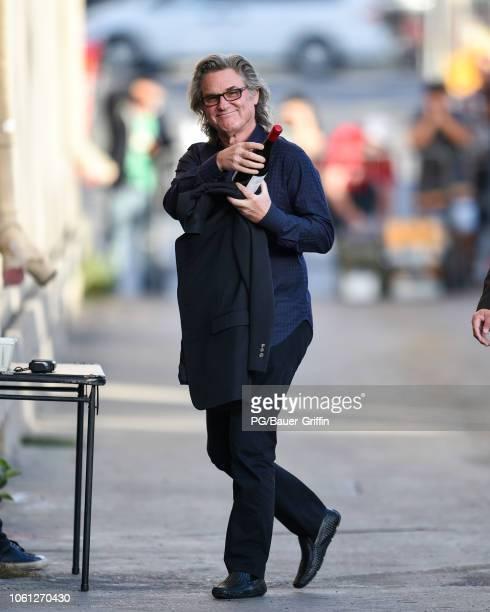 Kurt Russell is seen on November 13 2018 in Los Angeles California