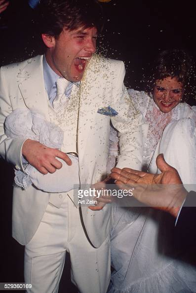 Kurt Russell with is bride Season Hubley at their wedding ...