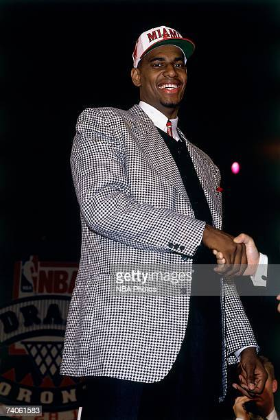 Kurt Thomas drafted by the Miami Heat during the 1995 NBA Draft on June 28 1995 at the Toronto Skydome in Toronto Canada NOTE TO USER User expressly...