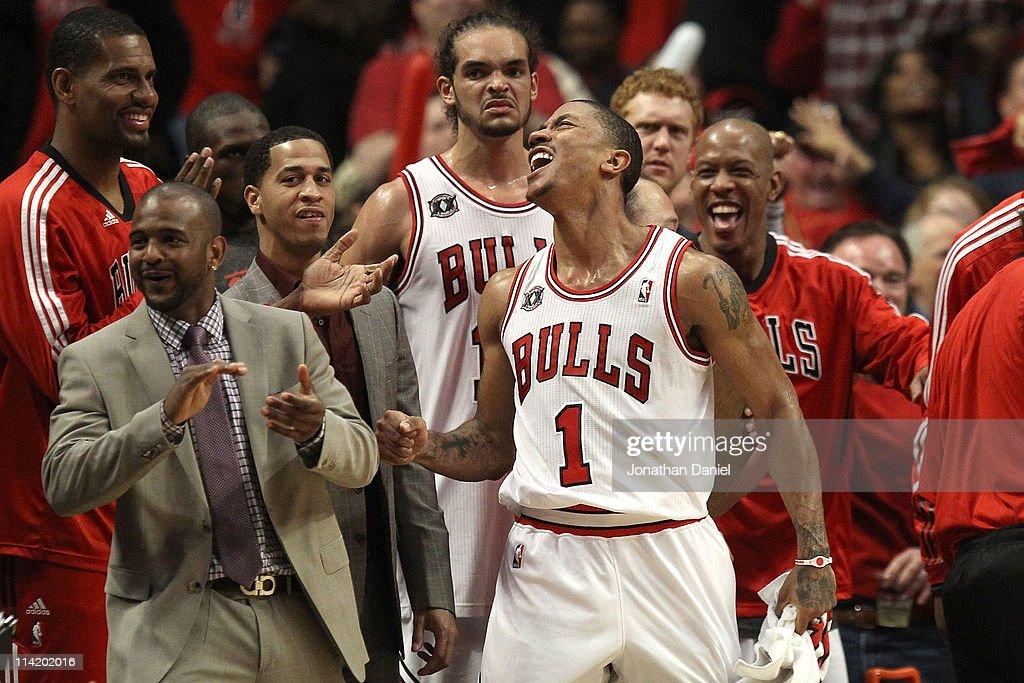 Miami Heat v Chicago Bulls - Game One : News Photo