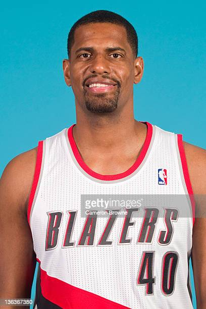 Kurt Thomas of the Portland Trail Blazers poses for a portrait during Media Day on December 16 2011 at the Rose Garden Arena in Portland Oregon NOTE...