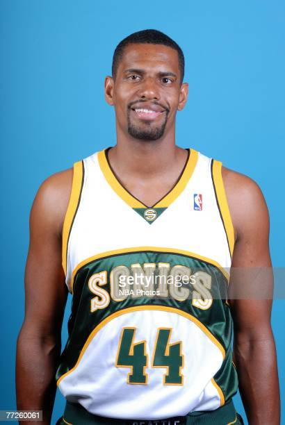 Kurt Thomas of the Seattle SuperSonics poses for a portrait during NBA Media Day at the Furtado Center on October 1 2007 in Seattle Washington NOTE...