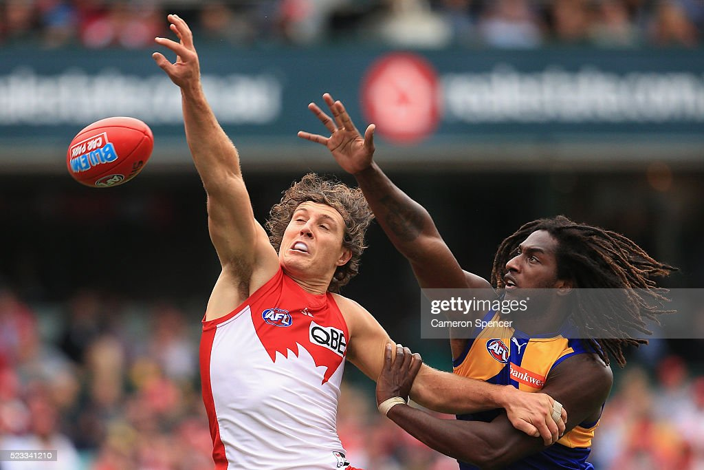 AFL Rd 5 - Sydney v West Coast