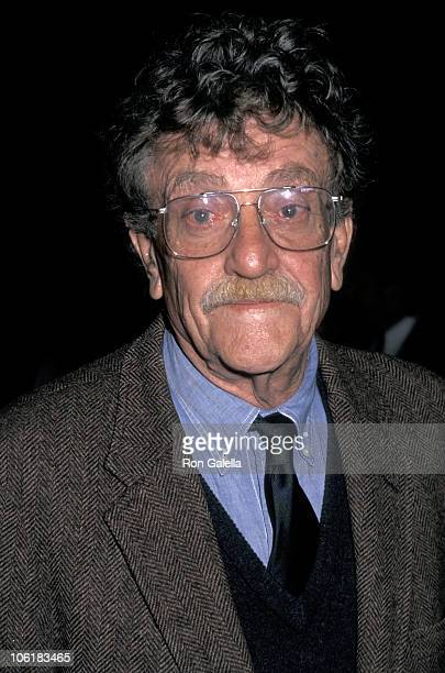 """Kurt Vonnegut during """"Mother Night"""" New York City Premiere at The Asia Society in New York City, New York, United States."""