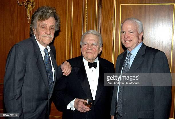 Kurt Vonnegut, Jr., Andy Rooney and Senator John McCain