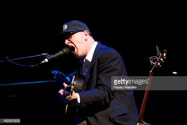 Kurt Wagner of Lambchop performs on stage at Barbican Centre on March 1, 2012 in London, United Kingdom.