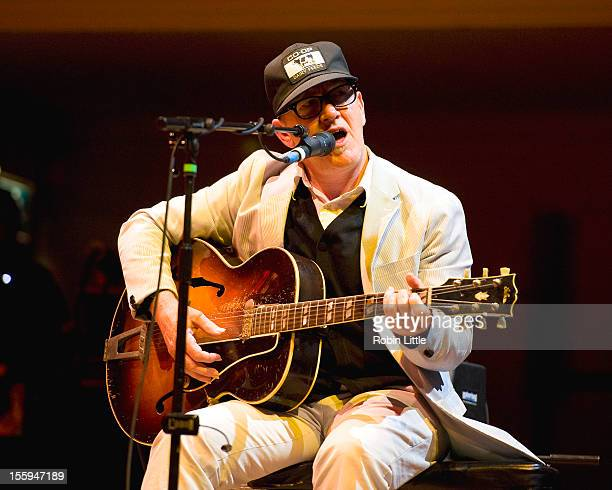 Kurt Wagner of Lambchop performs on stage at Cadogan Hall on November 9 2012 in London United Kingdom